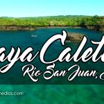 Vista Aérea Playa Caletón, Río San Juan, R.D.