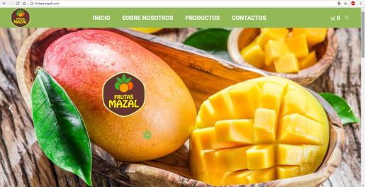 Diseño Web Frutas Mazal, S.R.L,